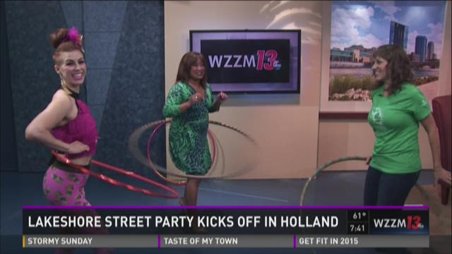 Lakeshore Street Party Kicks off in Holland