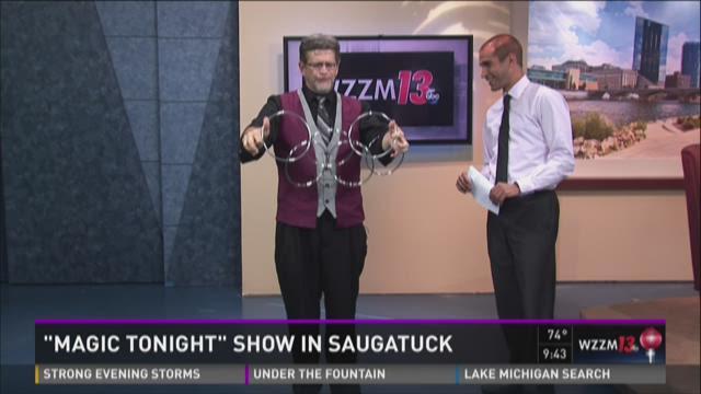 """Magic Tonight"" Show in Saugatuck"