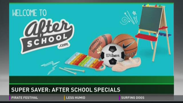 Super Saver: After school specials