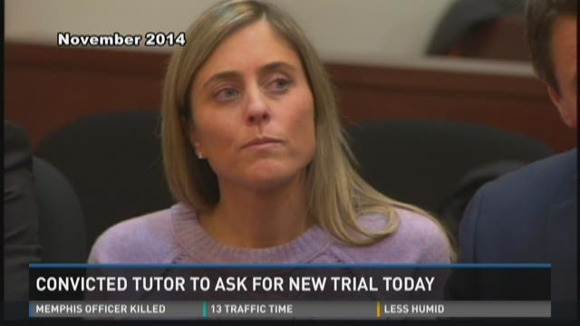 Convicted tutor to ask for new trial today