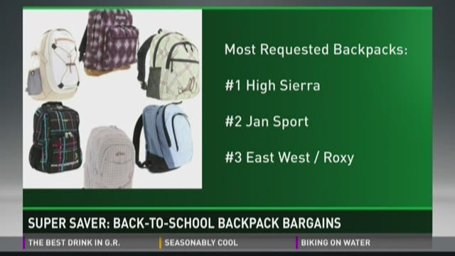 Super Saver: Backpack deals