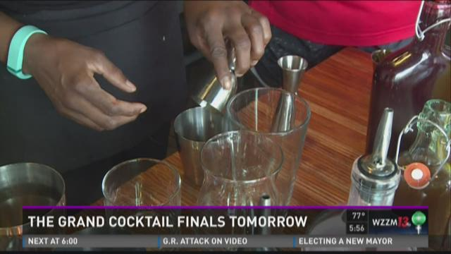 Grand Cocktail finals Wednesday