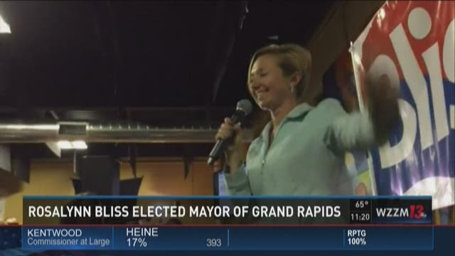 Election results: Rosalynn Bliss wins G.R. mayoral race