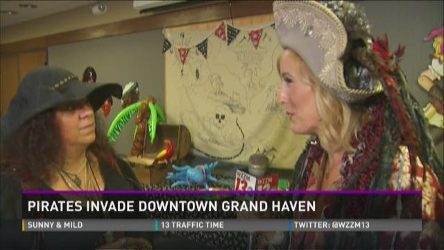 Pirate Festival in Grand Haven this week