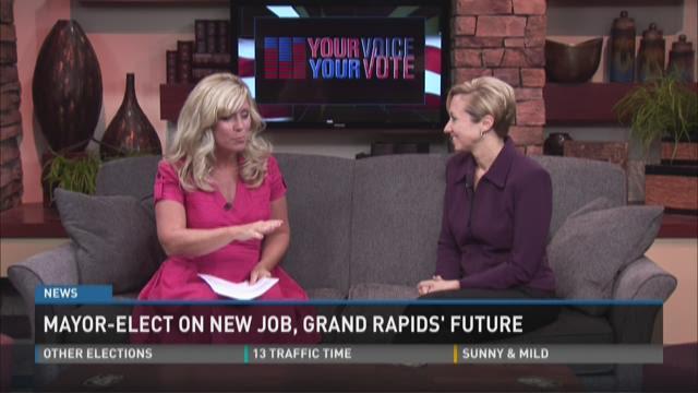 Mayor Elect Rosalynn Bliss talks about new job