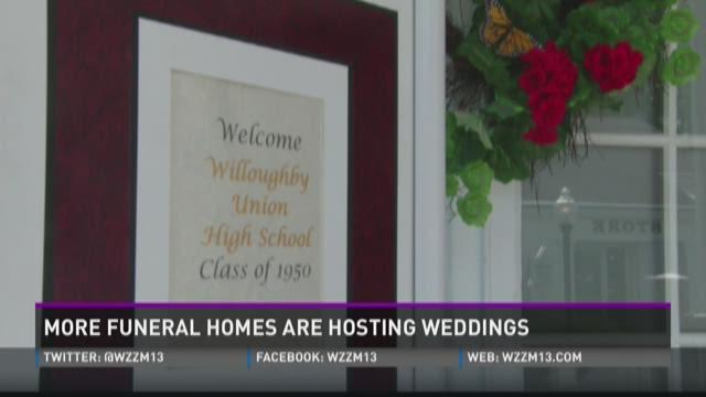 Free Beer and Hot Wings: Funeral home weddings