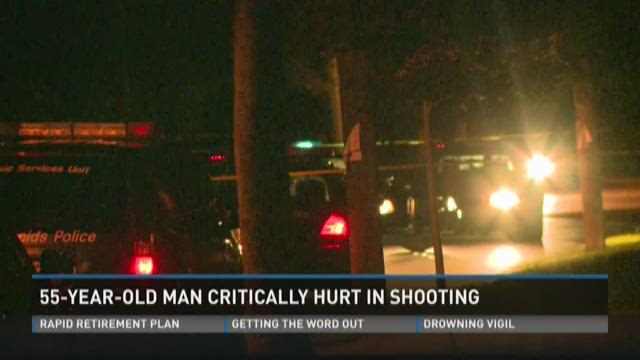 Man critically injured in overnight shooting