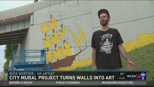 City mural project turns walls into art for City mural projects