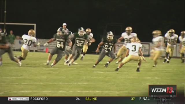 Jackson Lumen Christi 22- West Catholic 21