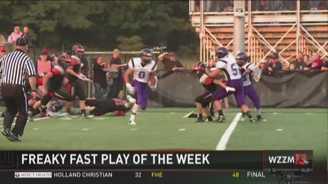 Jimmy John's Freaky Fast Play of the Week: Greenville's Logan MacMillen