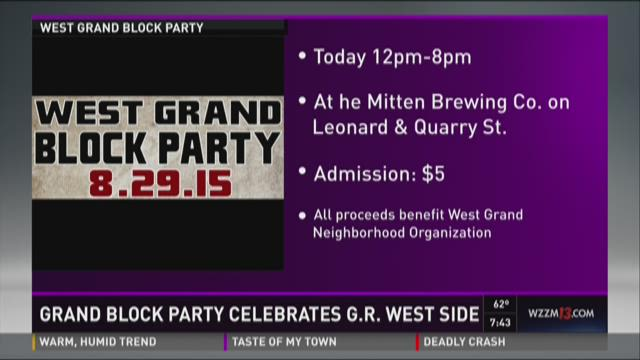 West Grand Block Party