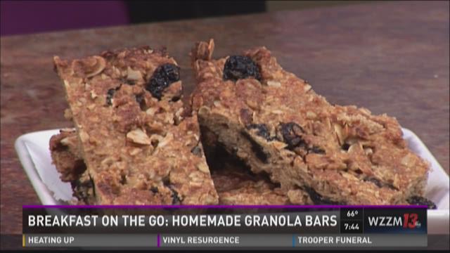 Breakfast on the Go: Homemade Granola Bars