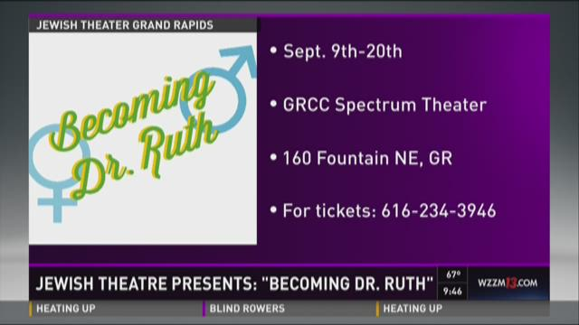 "Jewish Theatre Presents: ""Becoming Dr. Ruth"""