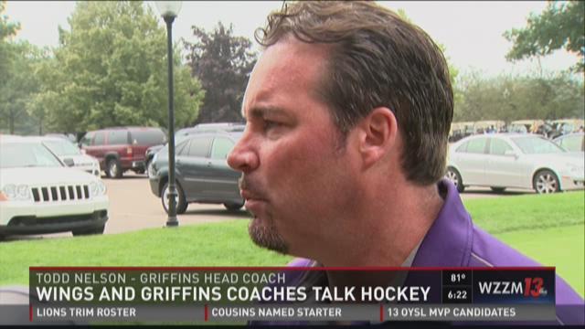 Blashill, Nelson talk hockey at Griffins Youth Foundation golf classic