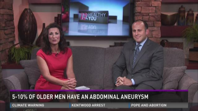 Attention men: How to tell if you have an abdominal aortic aneurysm