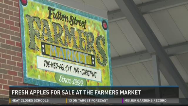 Made in Michigan: Fresh apples at farmers markets