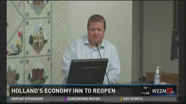 Holland's Economy Inn to re-open