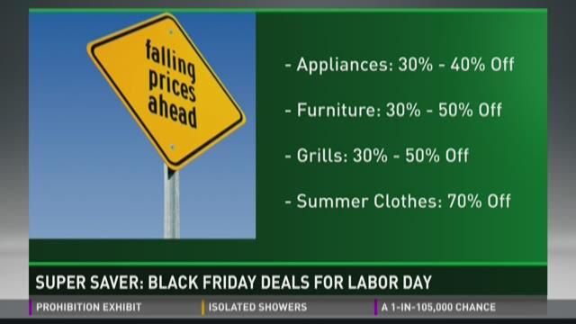 Super Saver: Black Friday deals for Labor Day