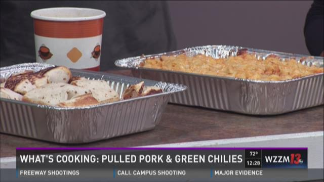 What's Cooking: Pulled Pork and Green Chiles