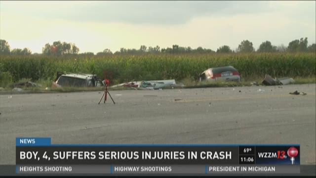 Child, 4, among those hurt in Kent Co. crash