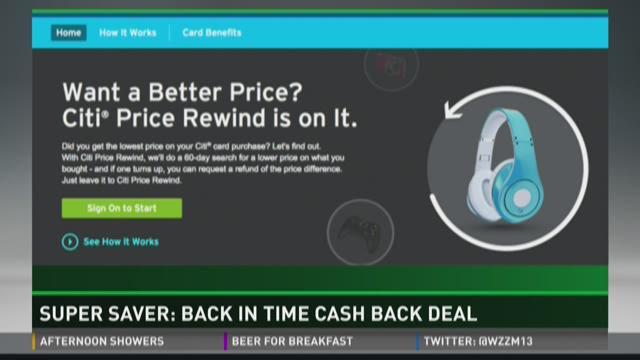 Super saver top cash back credit card for holidays