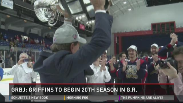 Griffins to begin 20th season in Grand Rapids