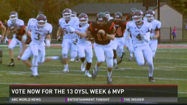 Vote now for the 13 OYSL Week 6 MVP