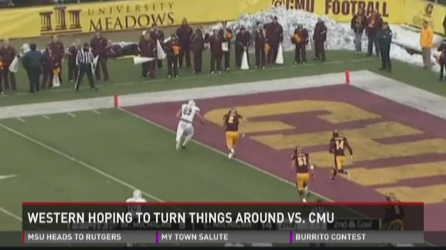 Western hoping to turn things around vs. CMU