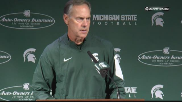 MSU leaves state for first time this season