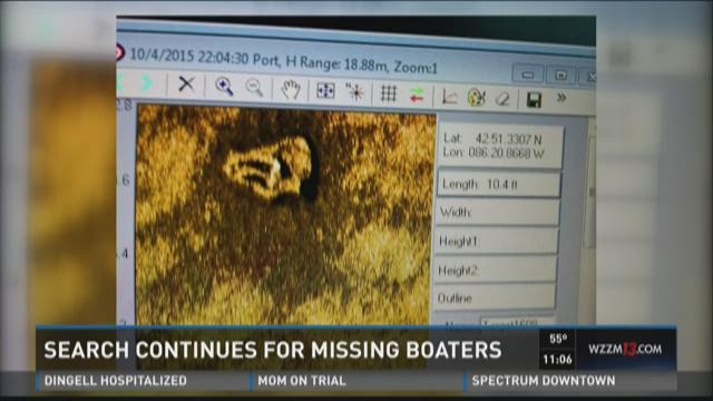 Volunteers keep searching for missing boaters