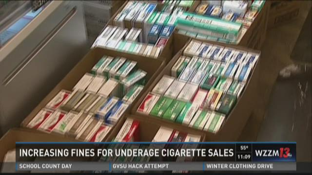 Lawmakers want stiffer penalties for providing cigarettes to minors