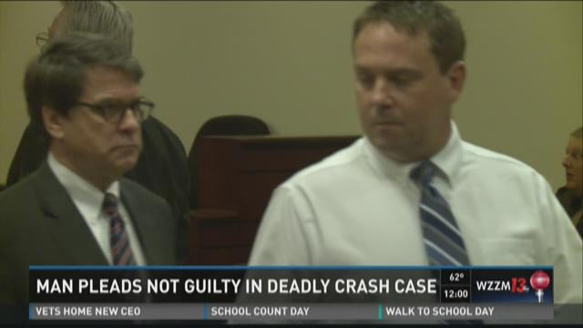 Man pleads not guilty in deadly crash case