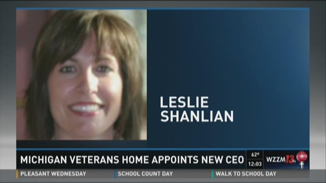 Michigan veterans home appoints new CEO