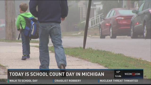 School count day in Michigan