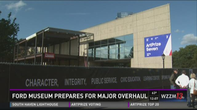 Ford Museum prepares for major overhaul