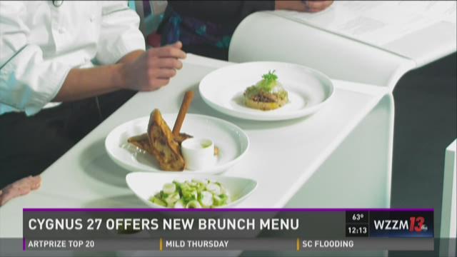Cygnus 27 offering new brunch menu