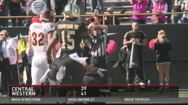 Chippewas, Broncos clash for Cannon Trophy