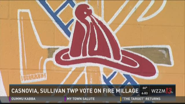 Casnovia, Sullivan townships to vote on fire millage