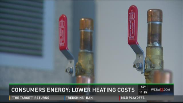 Consumers Energy predicts lower natural gas cost this winter