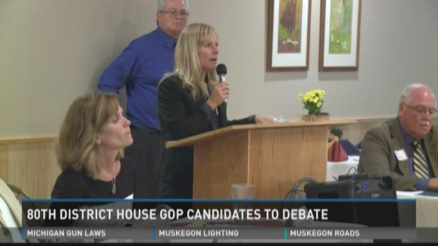First debate Tuesday in 80th District race