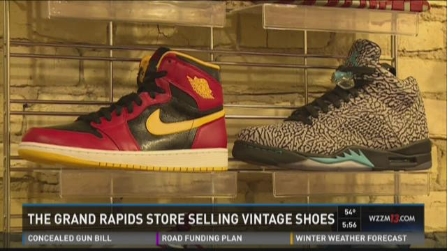 Dead Solez: G.R. store sells collector shoes