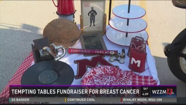 Tempting Tables fundraiser supports breast cancer fight