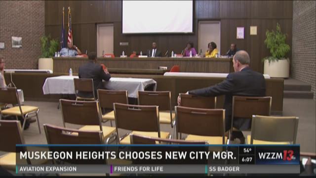 Muskegon Heights chooses new city manager