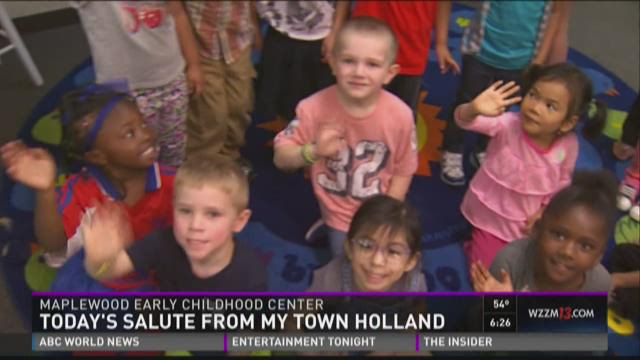 Tuesday salute - Maplewood Early Childhood Center
