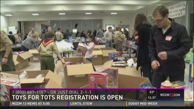Toys For Tots Registration : Toys for tots registration is open