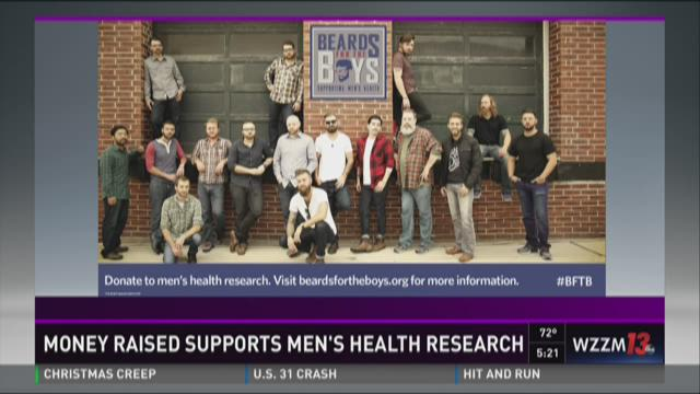 Money raised supports men's health reserach