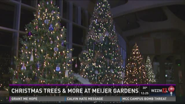 christmas trees traditions at meijer gardens