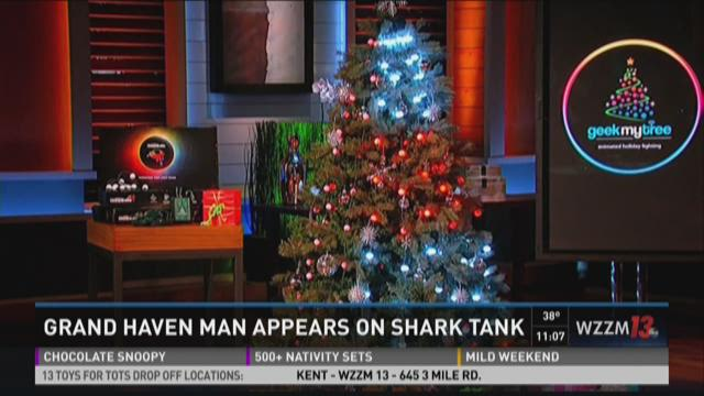 Grand Haven Inventor Gets Investment On Shark Tank